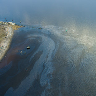 Naftas noplūde Vecdaugavā_2016